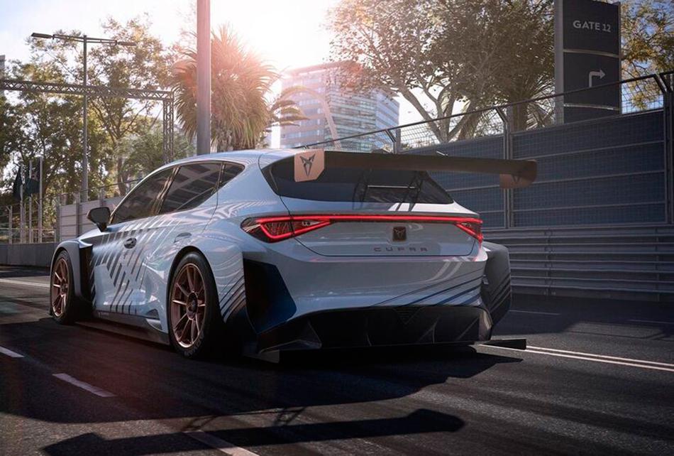 Сучасний дизайн автомобілю CUPRA e racer (фото з офіційного сайту https://www.cupraofficial.com.ua/)
