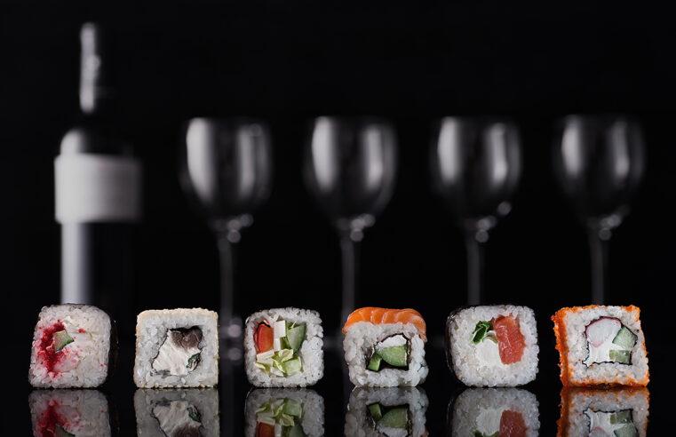 Підбираємо вино до суші
