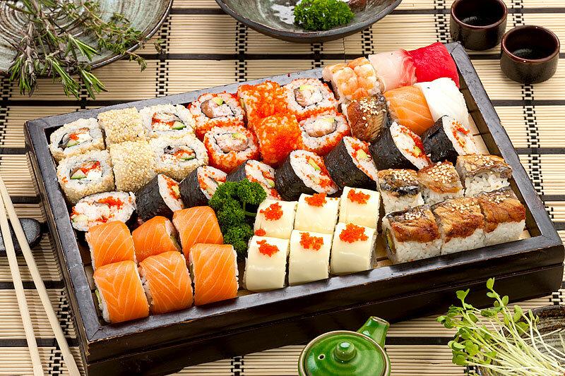 Нежный сет суши с оперативной доставкой