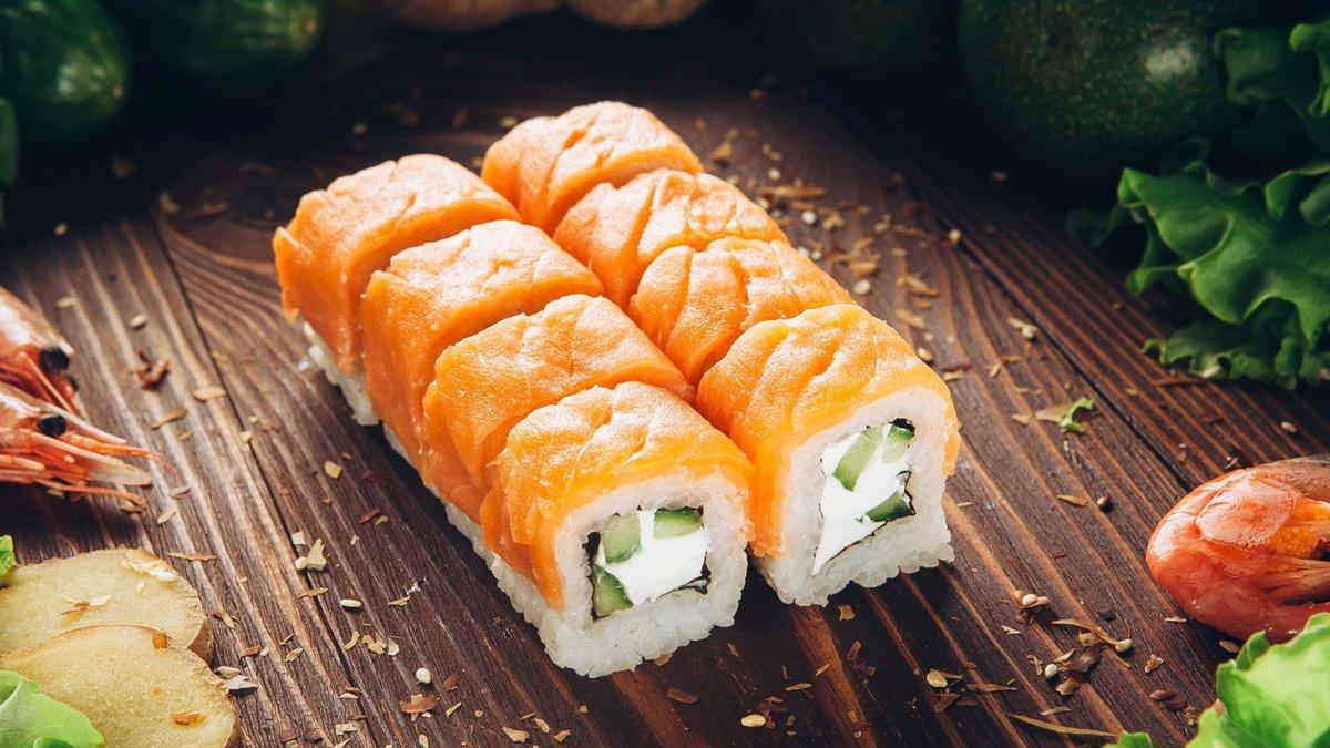 Суши «Филадельфия» (блюд от поваров Sushi Master)