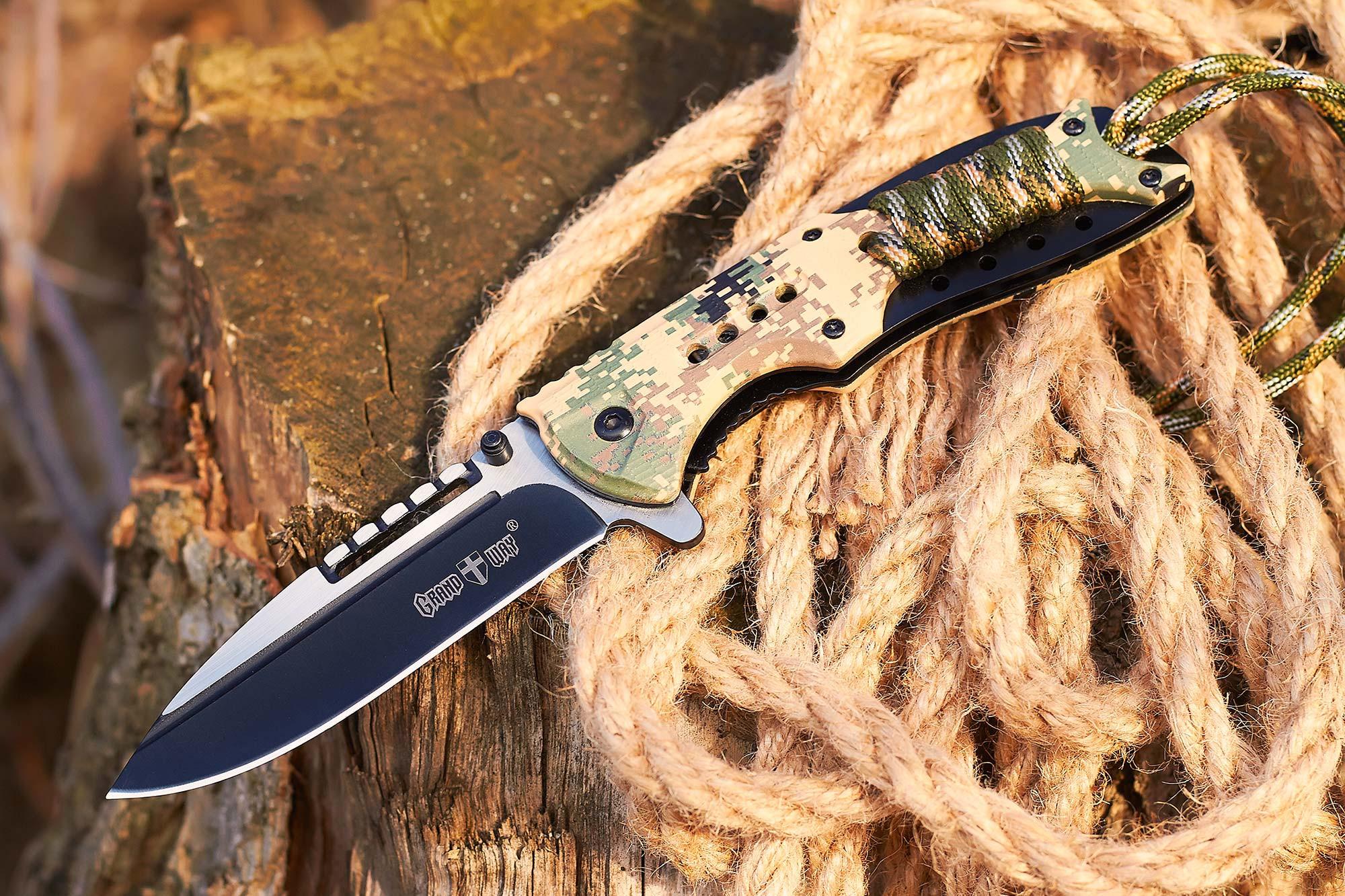 Качественный складной нож Grand Way (товар и фото магазина https://grandway.ua/)