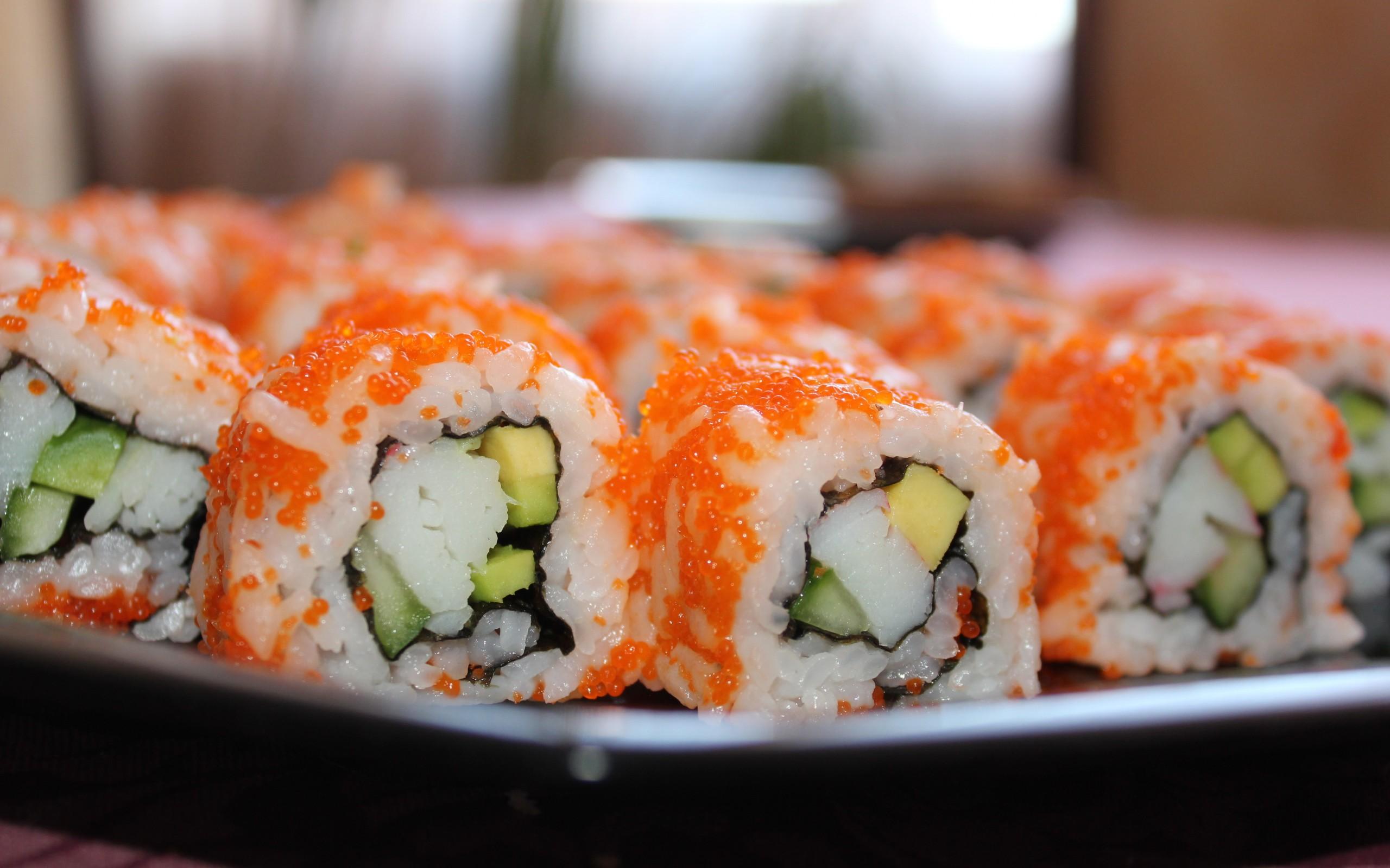 Японская кухня в заведении «Сушия»