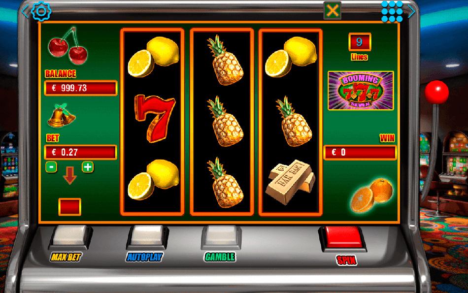Игровые автоматы онлайн в 3 барабана