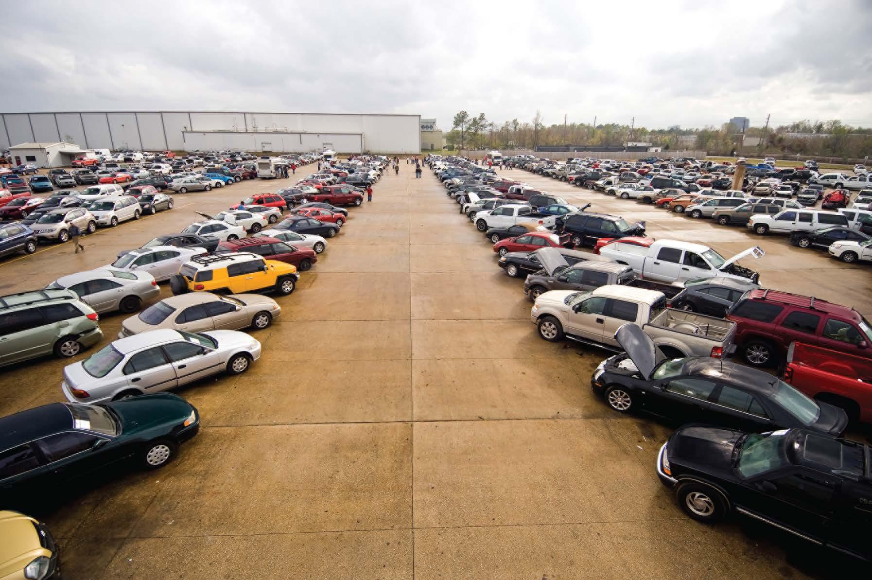 Покупка (выигрыш) автомобилей в Америки на аукционе