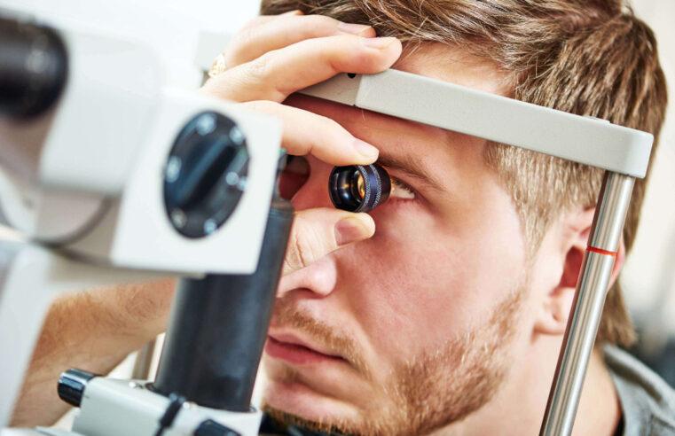 Проверка зрения на аппарате
