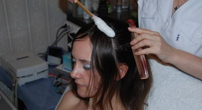 криомассаж голови