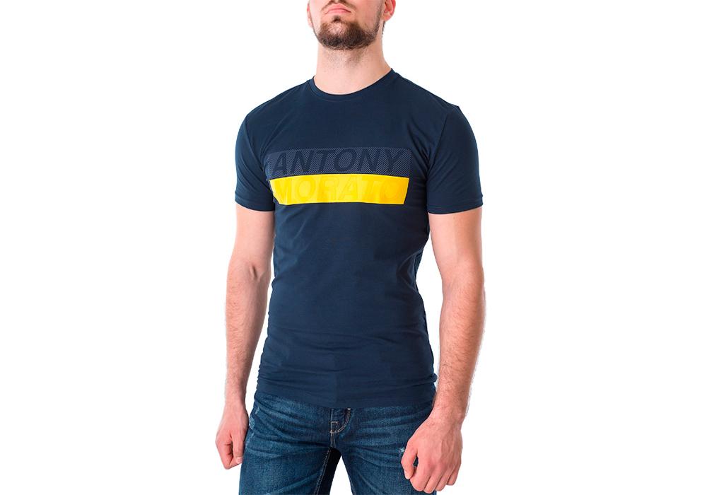 Стильная брендовая мужская футболка Antony Morato (товар и фото магазина pirkl.ua)