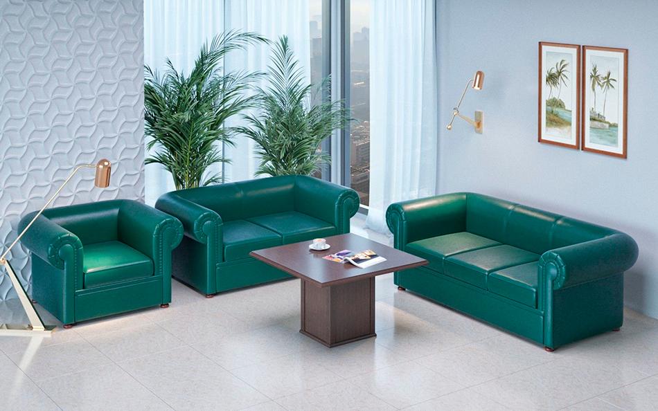 Мягкая мебель (диваны) в интерьере современного офиса