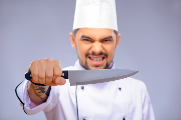 Кухонный нож для шеф-повара