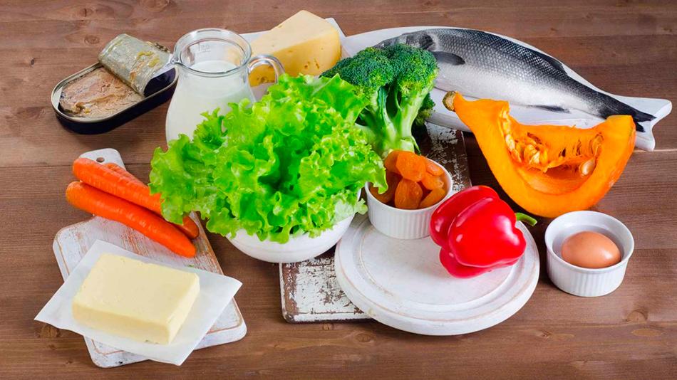 Продукты с большим содержанием витаминов для желудка и поджелудочной железы
