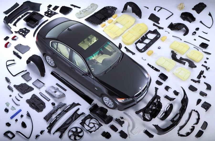 Запчасти для ремонта автомобиля с разборки (б/y)