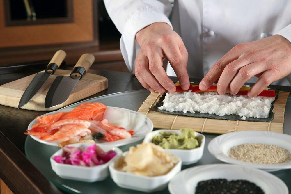 Качественный рис для приготовления суши в домашних условиях