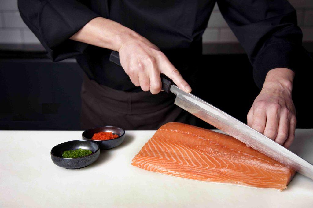 Красная рыба для вкусных суши