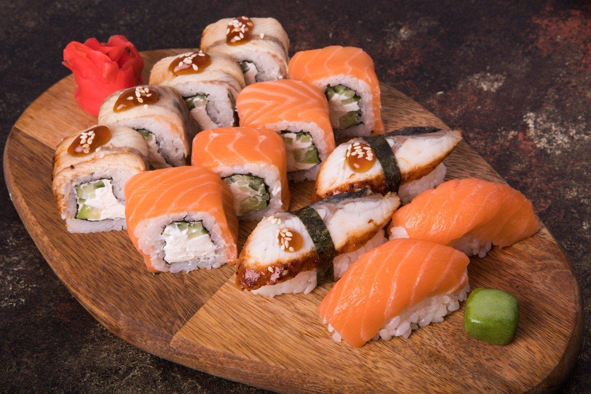 Настоящие японские суши в Борисполе