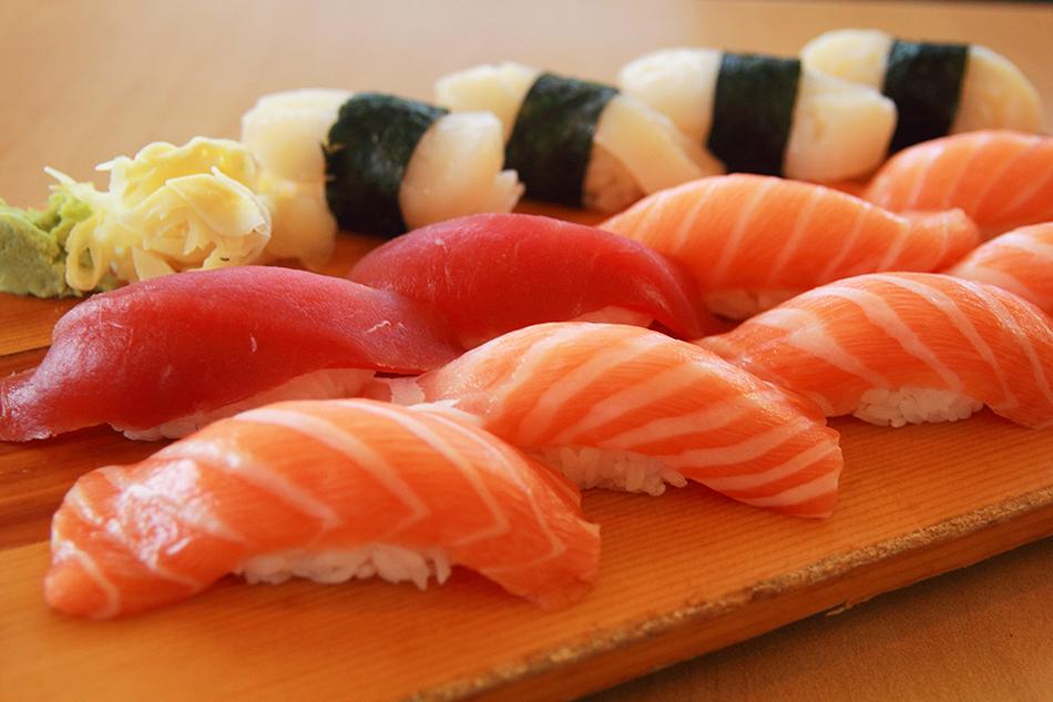 Нежные, вкусные суши на ужин
