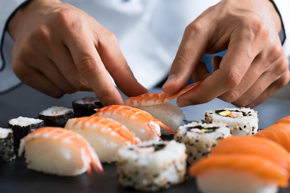 Как подбирать ингредиенты для суши