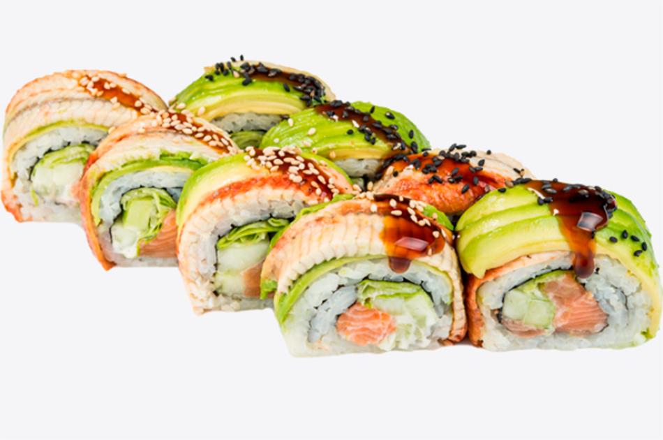 Нежные роллы для ценителей японской кухни