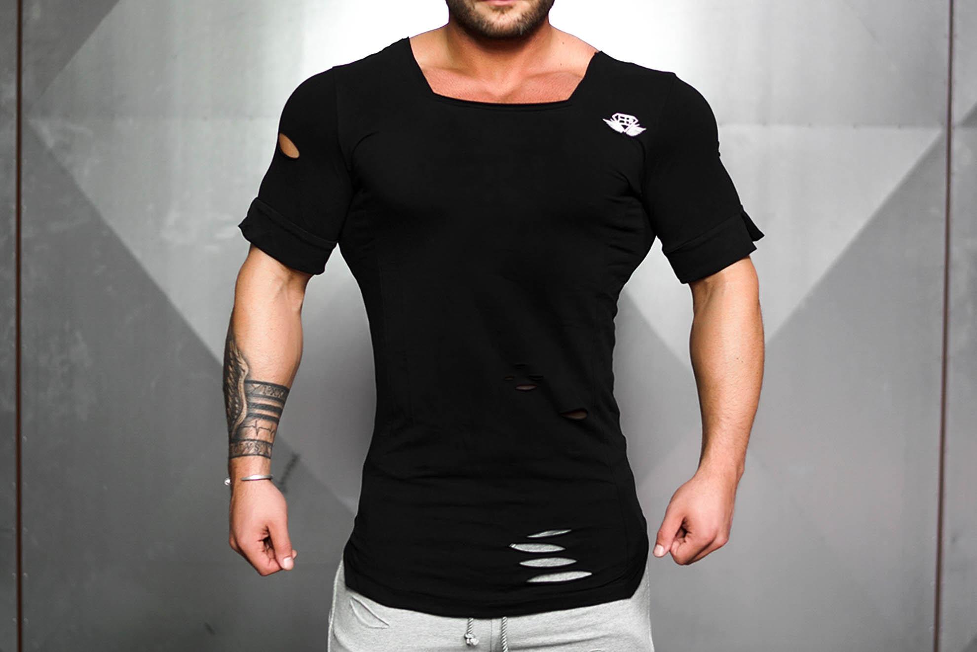 Мужские футболки: виды, материалы