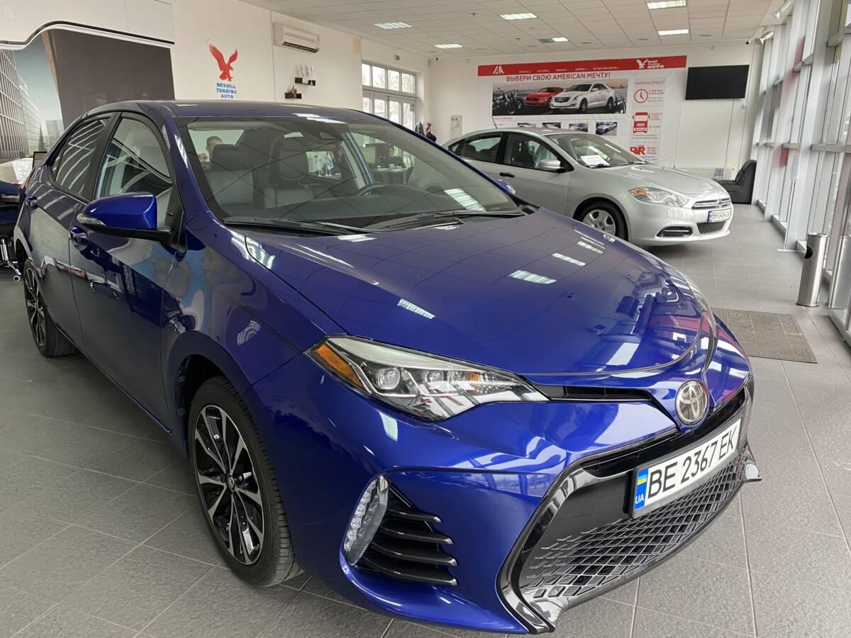 Авто из США: Toyota Corolla 2018 (под ключ – от компании Bexhill Trading Auto)