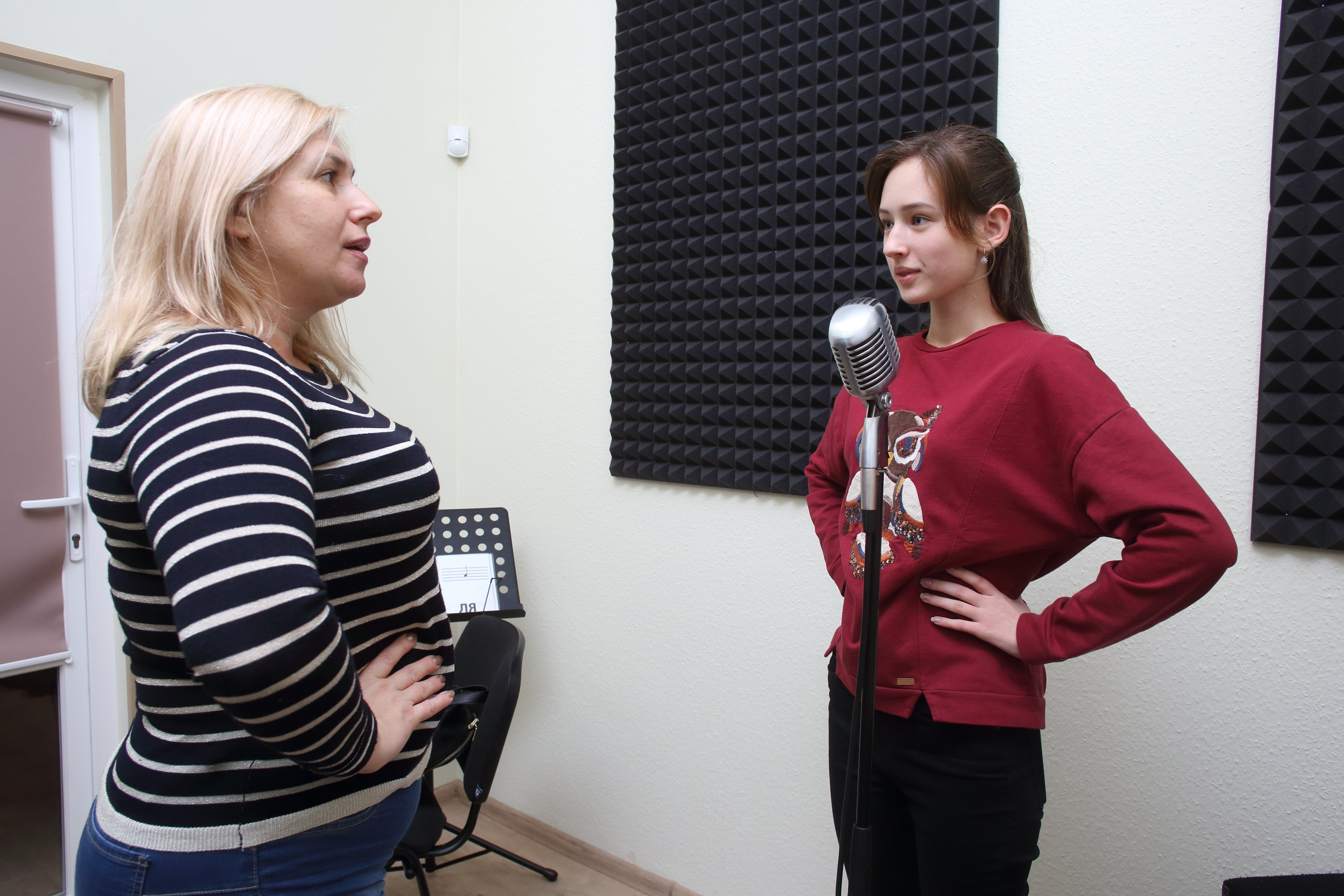 Уроки вокала в школе Екатерины Максимовой «Соломрия», г. Киеве