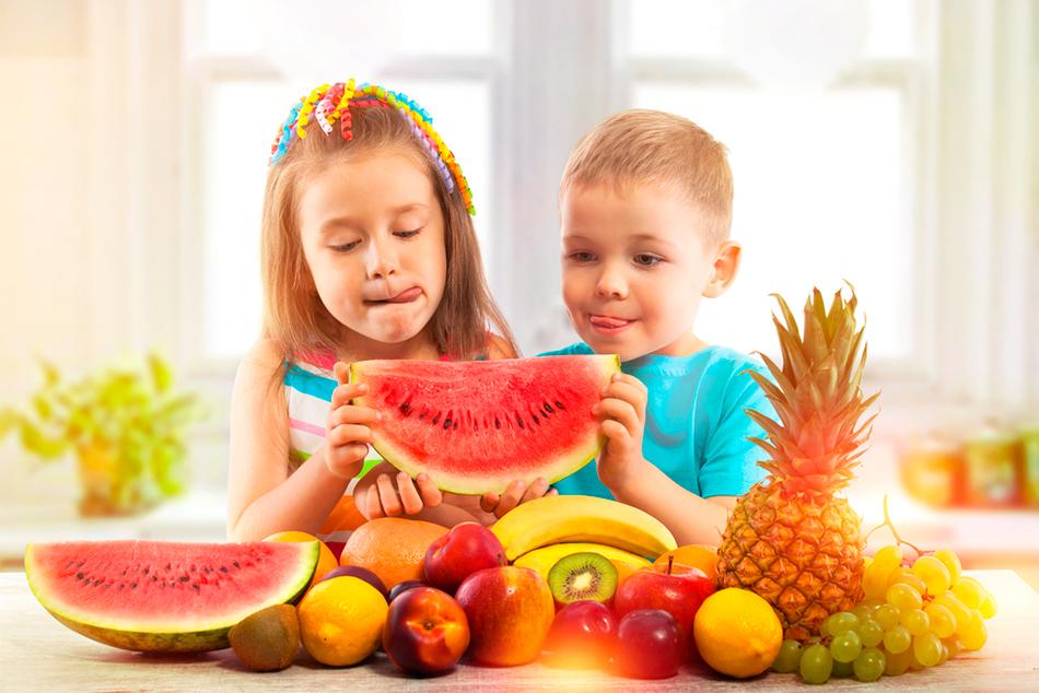 Важность витаминов для детского организма
