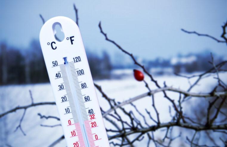 Термометр и зима