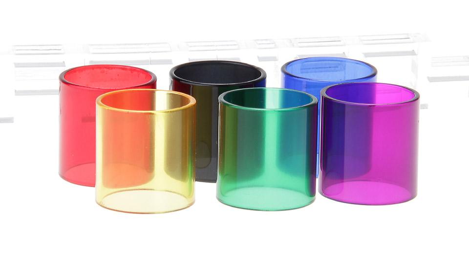 Цветные запасные стекла для вейпа